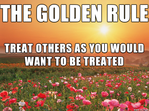 The golden rule of social media